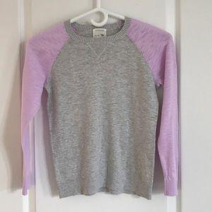 J Crew Crewcut cotton sweater